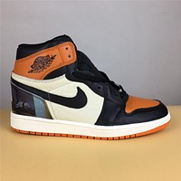 Air Jordan 1 black orange 36-47