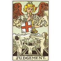 Judgement Tarot Card Poster 11x17