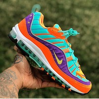 Nike Air Max 98 OG New fashion hook print sports leisure shoes men