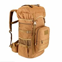 New Military Tactical Backpack 50L large Capacity Camping Bags Mountaineering bag Men's Hiking Rucksack Travel Backpack
