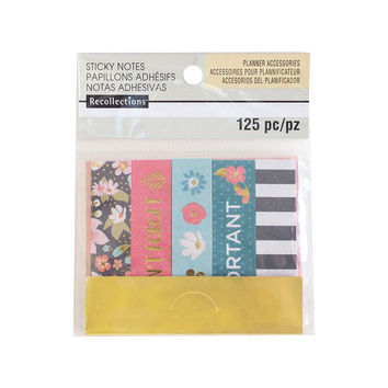 Floral Sticky Note Flags By Recollections™
