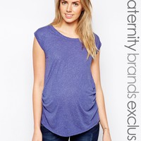 New Look Maternity Wrap Back Tee at asos.com