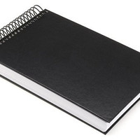 Darice 5-1/2-Inch-by-8-1/2-Inch Hardbound Sketch Book, 100-Sheets