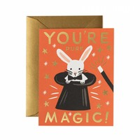 You're Pure Magic Greeting Card by RIFLE PAPER Co. | Made in USA