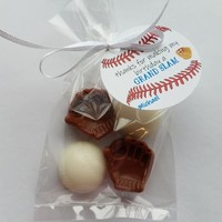Baseball Boy Baby Shower Favor | Birthday Party Kids Personalized Tags - Pack of 10