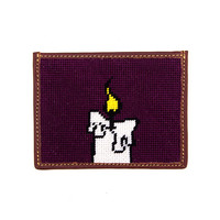 Candle Wallet (Plum)