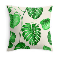 Tropical Plants - Decor Pillow (more colors)