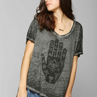 Project Social T Hamsa Burnout Tee - Urban Outfitters