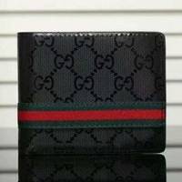Gucci Man  Leather Purse Wallet Satchel H-LLBPFSH
