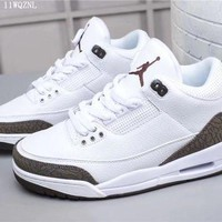 DCCK Men's Air Jordan 3 Retro Basketball Shoes