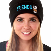 Best Friends Coffee Beanie