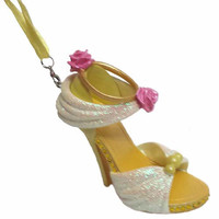 disney parks beauty and the beast princess belle shoe ornament new with tag