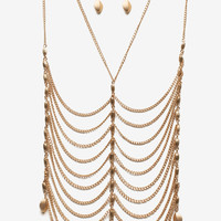 Webbed Layer Necklace