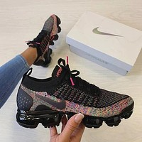 Nike Air VaporMax Flyknit 2.0 Woman Men Fashion Sneakers Shoes