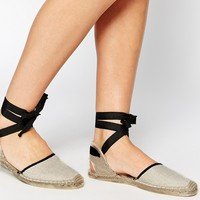 Soludos Classic Woven Sand Flat Sandals