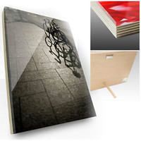 Print Your Photo on the Acrylic Wood Frame, 8 x 10 inch