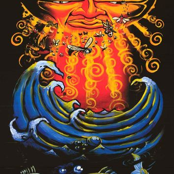 Sublime Sun and Sea Band Poster 24x36