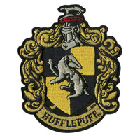 Harry Potter Hufflepuff Crest Iron-On Patch
