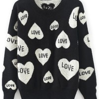 Sweet Love Ribbed Sweater - OASAP.com