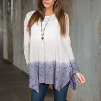 Fade To Love Top, Lilac