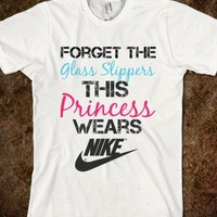 Nike Princess - funny, vintage, creative, pretty, and quote tops from @justforever