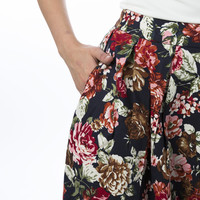 Floral Seattle Skirt - She Traveled - Online Sister Missionary Fashion Mall