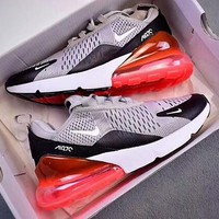 NIKE Air Max 270 retro style air cushion running shoes F