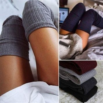Fashion Sexy Style Winter Warm Knit Socks [9430009732]