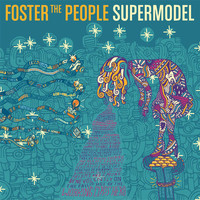 Foster The People Supermodel Lp Vinyl One Size For Men 25057495001