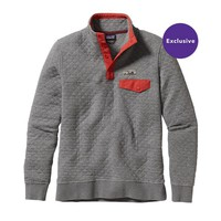 Patagonia Women's Cotton Quilt Snap-T® Pullover | Bleached Stone