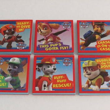 Paw Patrol Note Pads Set of 6 - Excellent Party Favors