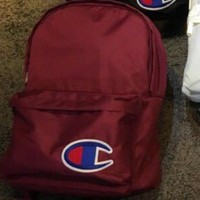Champion tide brand men and women couple backpack