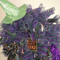 Feeling witchy wreath-Witch wreath-halloween wreath-witchy decor