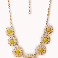 Flower Power Bib Necklace