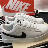 Nike Blazer Unisex Casual Low Help Plate Shoes Couple Small White Shoes Sneakers