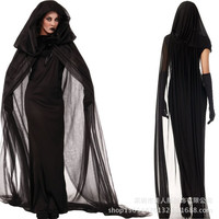 Western Halloween Dress Bride Embryo Cosplay Costume Uniform Taste One Size = 1930181636