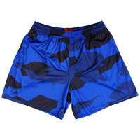 Navy Camo Rugby Shorts