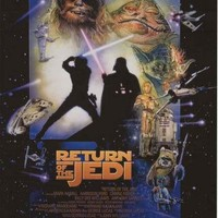 Star Wars Return of the Jedi Special Edition Poster 22x34