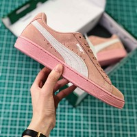Puma Basket Classic Pink White Sneakers - Best Online Sale
