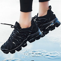 NIKE AIR VAPORMAX PLUS 2018 new cushioned running shoes F-A0-HXYDXPF Black
