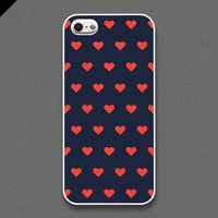 iPhone 5 Case - Love dots pattern  - also available in iPhone 4 and iPhone 4S size
