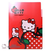 Hello Kitty Index File 3 Layers(Pocket) Folder : Apple $5.99