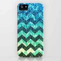 Water Shine Chevron - for iphone iPhone & iPod Case by Simone Morana Cyla