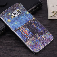 Abstractionism Art Phone Case For Samsung GALAXY S6 S7 Edge