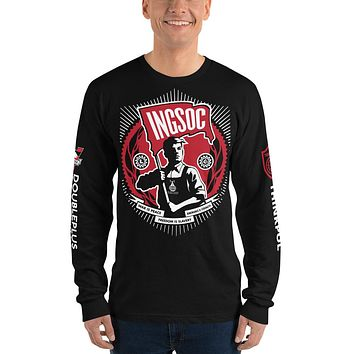 1984 INGSOC DOUBLEPLUS GOODTHINK Long Sleeve T-Shirt