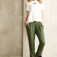 Ribbon Cinched Trousers by Harlyn