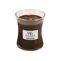 WoodWick Candle Jar - Vanilla Bourbon