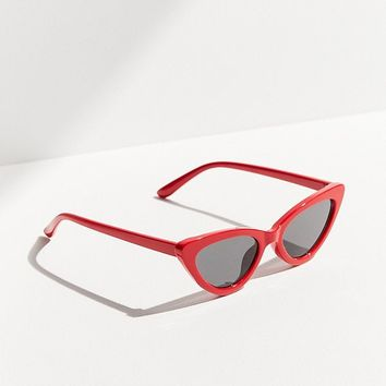 Wild Child Cat-Eye Sunglasses   Urban Outfitters