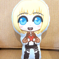 Armin - Attack on Titan Pillow Plushie