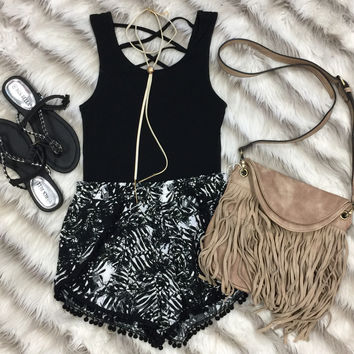 In the Palms Pom Pom Shorts